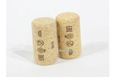 Винные пробки корковые 42х23,5 мм (Португалия агломирированная с лого PIE) 100 шт
