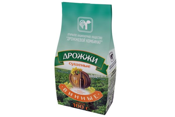 Белорусские винные дрожжи 100 гр.